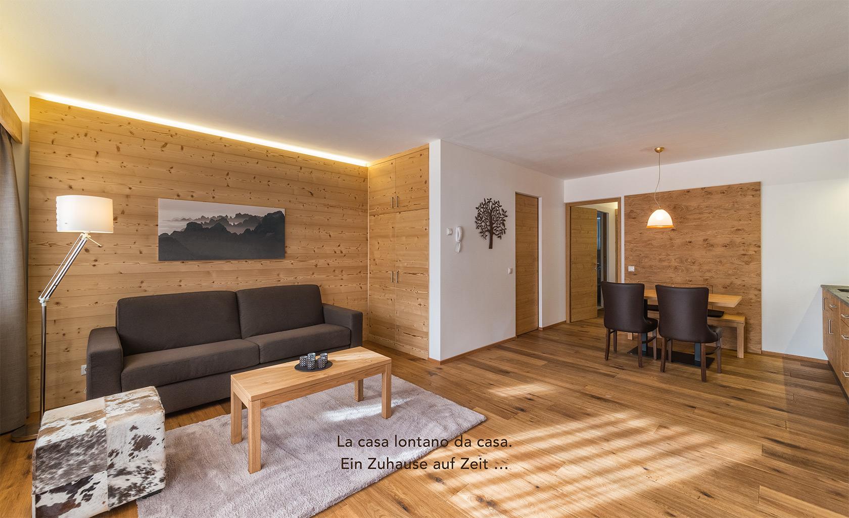 Ferienwohnungen Toblach Südtirol - ALMA mountain residence